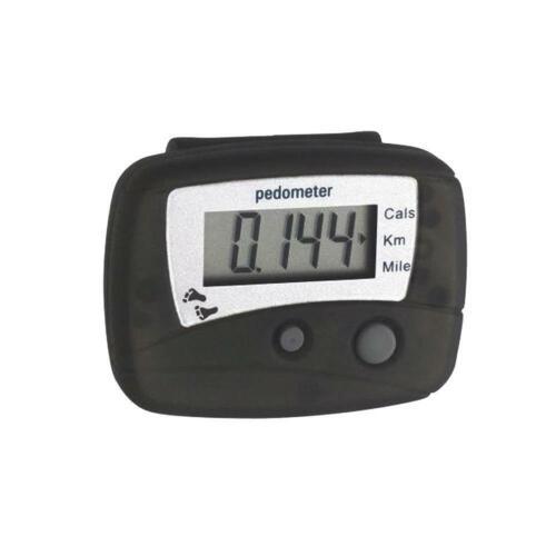 Schrittzähler KM Meilen Kalorienzähler mit Klip Befestigung Hot K4C9 New K2V4