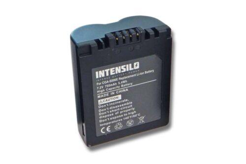 Batería 750mAh para PANASONIC LUMIX DMC-FZ50 FZ-50 30 18 8 7 ACCU