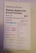 Ordnance Survey Landranger Map Sheet 24 Raasay, Applecross And Loch Torridon
