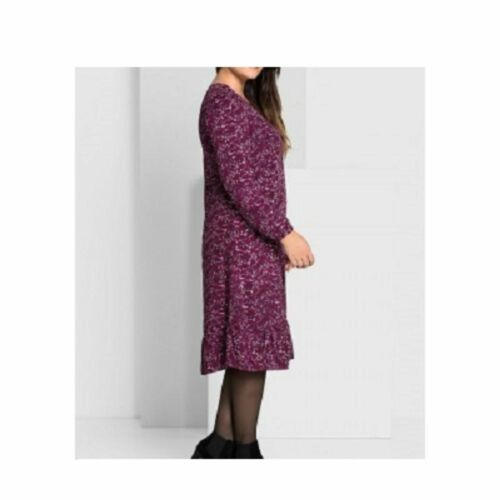 Sheego Robe Over volant-Ourlet baie NEUF