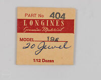 Longines Genuine Material Part 404 Stop Click For 19a