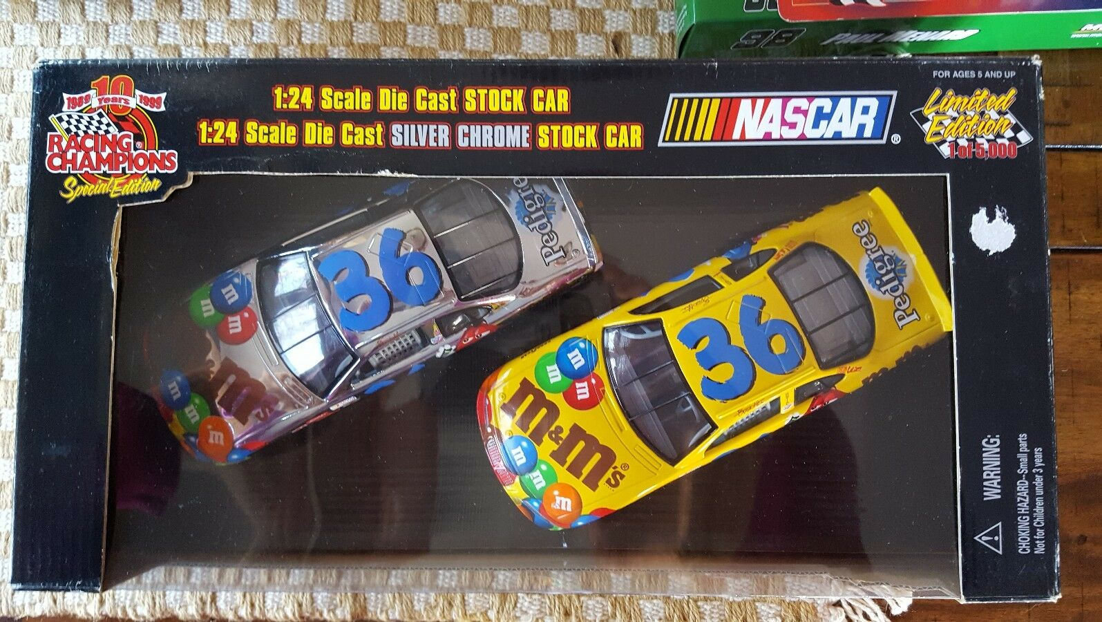 RACING CHAMPIONS 1 24 DIECAST AND Silber CHROME  36 ERNIE IRVING