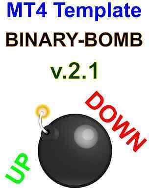 BINÄRE OPTIONEN FOREX - BINARY BOMB v2.1 300 SEKUNDEN TEMPLATE UVP. 59,90€