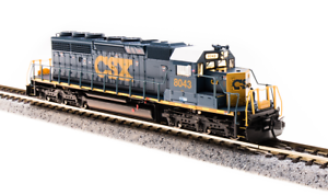 BROADWAY-LIMITED-3711-N-SCALE-SD40-2-CSX-8043-YN3-Paragon3-Sound-DC-DCC