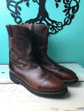 78ec2159964 Justin Work Boot 13d #4762 Copper Caprice Color 10 Inch Upper EX ...