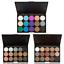 15-Colors-Fashion-Eye-Shadow-Makeup-Cosmetic-Shimmer-Matte-Eyeshadow-Palette-Set thumbnail 2
