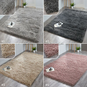 SMALL-LARGE-SUPER-CHUNKY-LUXURY-THICK-DEEP-LONG-SHAGGY-PILE-RUGS-CLEARANCE