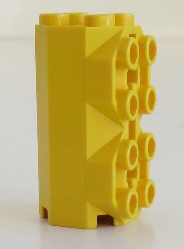 Stein/ Brick 2 x 2 x 3 1/3 achteckig 2 x LEGO Noppen gelb # 6042 octagonal