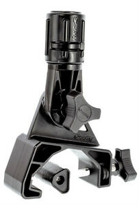 SCOTTY-433-KAYAK-COAMING-GUNNEL-CLAMP-W-GEAR-HEAD-MOUNT-ROD-HOLDER-BLACK