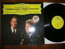 SHLOMO MINTZ ( VIOLIN ) MENDELSSOHN & BRUCH Concertos CHICAGA ABBADO DGG ´81