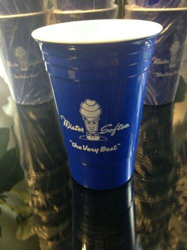 2 BRAND NEW MR SOFTEE ICE CREAM CUPS 15 OZ  BPA FREE Reusable