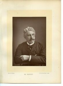 Vintage-Cabinet-Card-W-amp-D-Downey-Sir-Squire-Bancroft-English-actor-manager