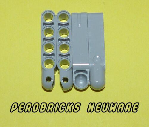 Lego Technic Technik 4x Kugelkopf Verbinder//Aufhängung hellgrau #15459 NEUWARE