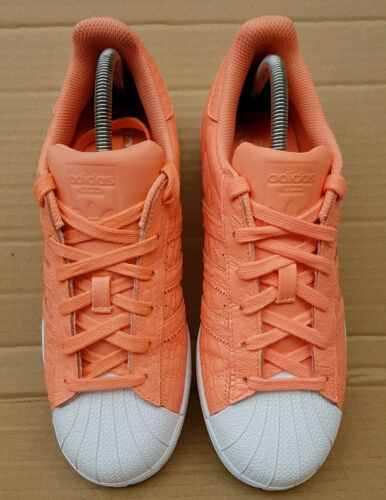 5 Uk Excellent Skin da Orange Adidas Scarpe Rare ginnastica Superstar Reptile taglia wcXvWTPqUY