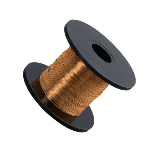 C87//2 Warm Gold Jewellery Copper Craft Wire 32 AWG 0.20mm 175 Metres