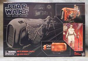 """Star Wars The Black Series Rey/'s Speeder Jakku #03 New Unopened 6/"""""""