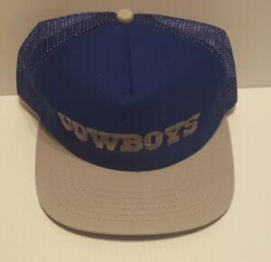6e116967 Details about 1970/1980's Vintage Dallas Cowboys New Era Mesh Back Snapback  Baseball Cap Hat
