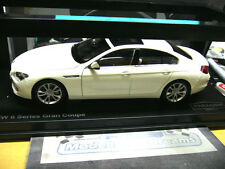 BMW 650i 6 er Reihe 6 Series F06 Gran Coupe weiss 2013 NEU NEW GTA Welly 1:18