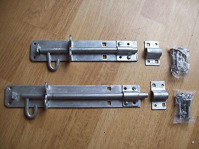 Brenton padbolt garden gate padlock bolt latch lock hot dip galvanized PAD BOLT