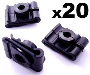 Velocidad-de-plastico-20x-Tuercas-Clips-para-la-fijacion-de-Rueda-Arco-Spire-Forro-amp-Protector-de