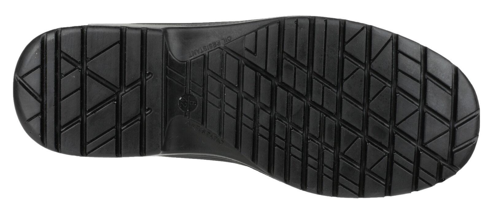 Scarpe casual da uomo AMBLERS fs514 SLIP SLIP SLIP ON Clog Punta protezione da uomo unisex Scarpe lavoro uk3-12 012442