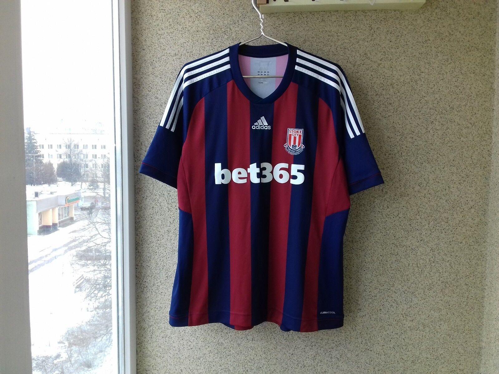 Stoke City 2012 2013 Away football shirt Adidas Jersey Soccer Camiseta England