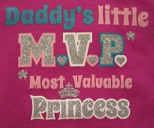 Father/'s Day onesie Daddys mvp girl football onesie Daddys MVP Daddys girl onesie