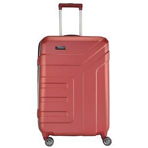 Travelite-Vector-2-0-4-Rollen-Trolley-Koffer-Reisen-70-cm-koralle