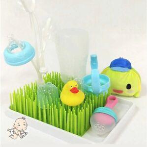 Baby-Milk-Bottle-Drying-Rack-Baby-Bottle-Rack-Grass-Style-Cleaning-Dryer-Drainer