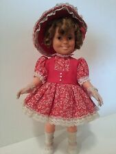 "Shirley Temple Doll 16"" Ideal Toy Corp. 1972,  Marked ST-14-H-213 Mint Condition"