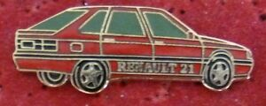BEAU-PIN-039-S-VOITURE-RENAULT-21-ROUGE-EGF