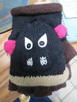 David & Young Critter Animal Gloves - Hand Flip Top Style - BULL
