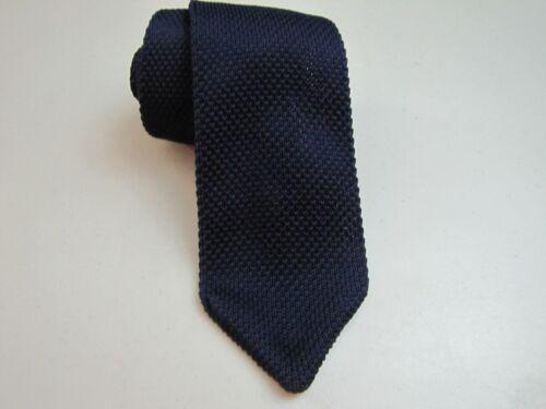 Slim Knit Necktie Center Street Classic Point Style Woven Tie Choose Color