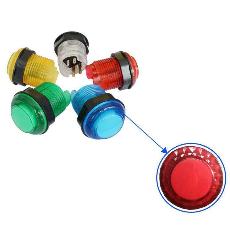 LED Arcade Buttons and Joystick Kit to DIY Arcade Machine PC & Raspberry Pi Game