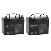 Upg 2 Pack - Compatible 12v 35ah Wheelchair Battery For Pride Mobility Jazzy 110