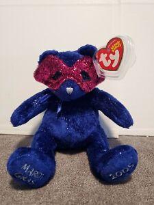 TY Beanie Babies - Mardi (Mardi Gras) Bear