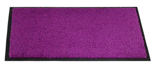 Wash /& Clean : 60,0 x 180,0 cm BxL Maße lila Mercury Fußmatte