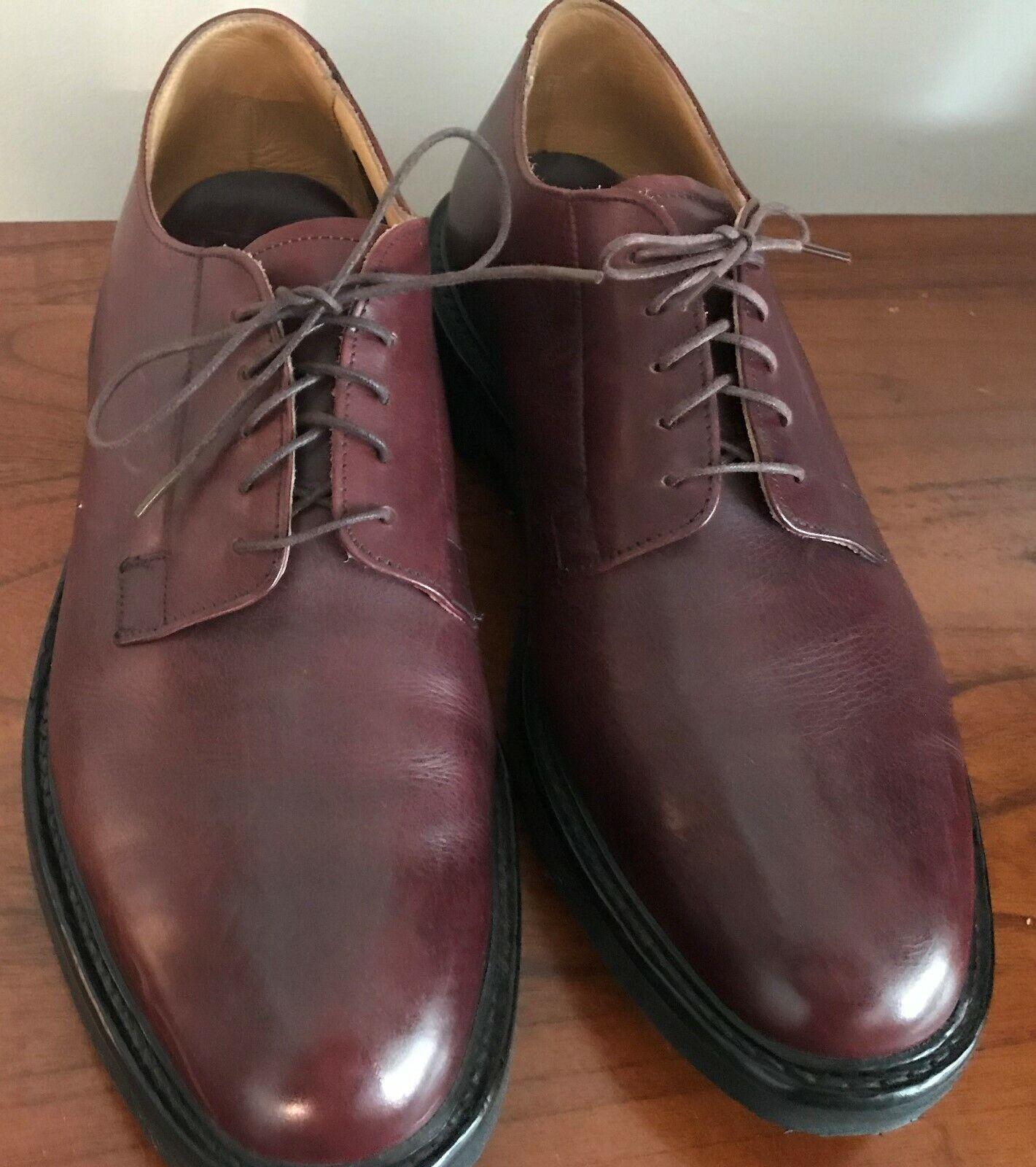 Zapatos De Vestir Barrie Ltd de Inglaterra Artesanal (hombre) Talla 10 Marrón Derby