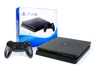 SONY-PS4-SLIM-Konsole-500GB-NEUEN-Subsonic-Wired-Controller-Playstation-4