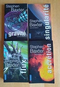 Cycle des Xeelees - Lot de 4 livres - Stephen Baxter - Tomes 1 à 4