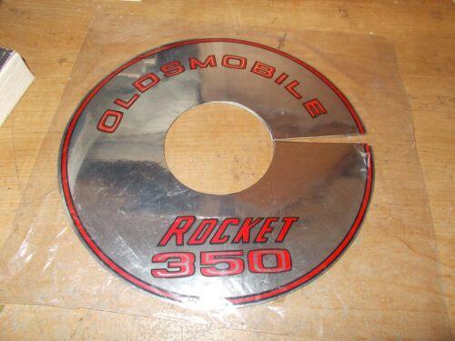 "1968 OLDSMOBILE 88 98 CUTLASS DELTA ROCKET 350 2V AIR CLEANER TOP LID DECAL 8/"""