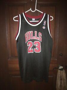 buy online 154fa 1e0d6 Details about Mens Champion Size Small MICHAEL JORDAN Chicago Bulls NBA  Basketball Jersey