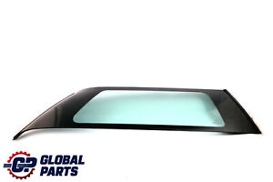 BMW Mini Cooper R50 R53 Rear Right O/S Side Window AS2 Green