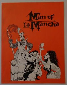 Program Man Of La Mancha 1971 Giorgio Tozzi Kenley Players Columbus Ohio