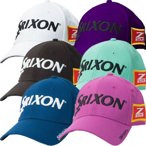 SRIXON-Z-STAR-SPINSKIN-TOUR-FITTED-STRETCH-FIT-MENS-GOLF-CAP-HAT