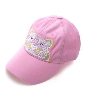 KENZO Tiger Cap Womens Mens Light Pink Hat 5AC301 F20 32 Adjustable ... ff14623a905