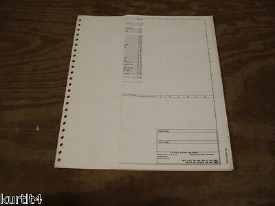 1983 Ford E150 E250 Econoline Van Wiring Diagram Schematic Sheet Service Manual Ebay