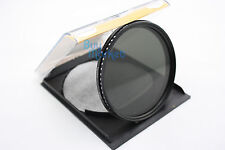 72mm Fader Adjustable Variable ND Filter Neutral Density ND2 ND4 ND8 to ND400