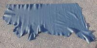 Bison, Buffalo Hide, Navy Blue Color, 1 Grade, 3-4 Ounce 18.5 Square Feet B1