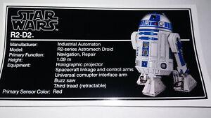 Lego® Star Wars Customsticker 10225 R2-D2 UCS vinyl cmyk HQ